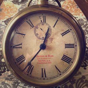 Thomas and Ross large pocket clock